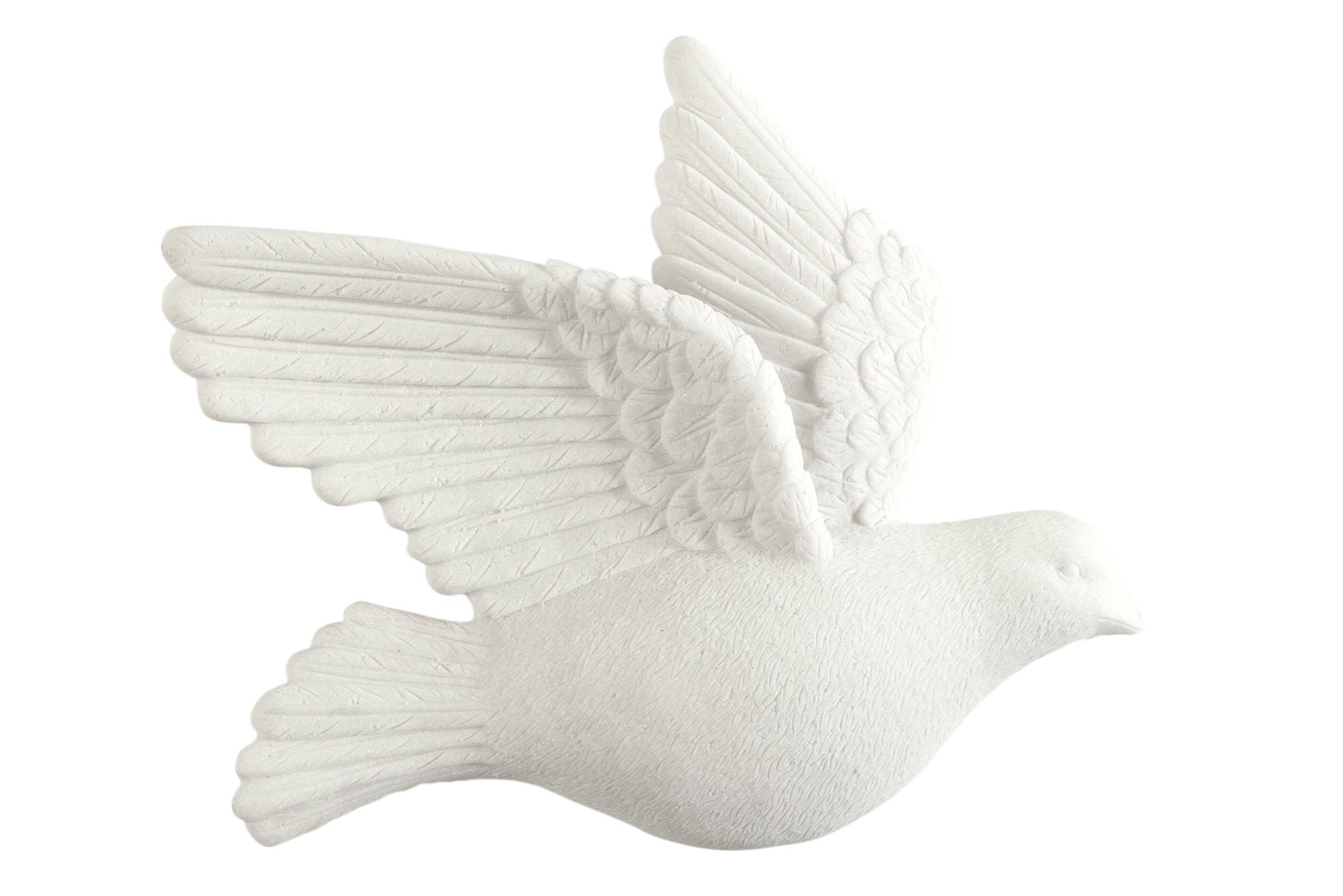 heine home LED Wanddeko Vogel 2er-Set | Dekoration > Figuren und Skulpturen > Tiere | Grau | Heine Home