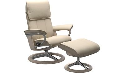 Stressless® Relaxsessel »Admiral«, mit Signature Base, Größe M & L, Gestell Whitewash kaufen