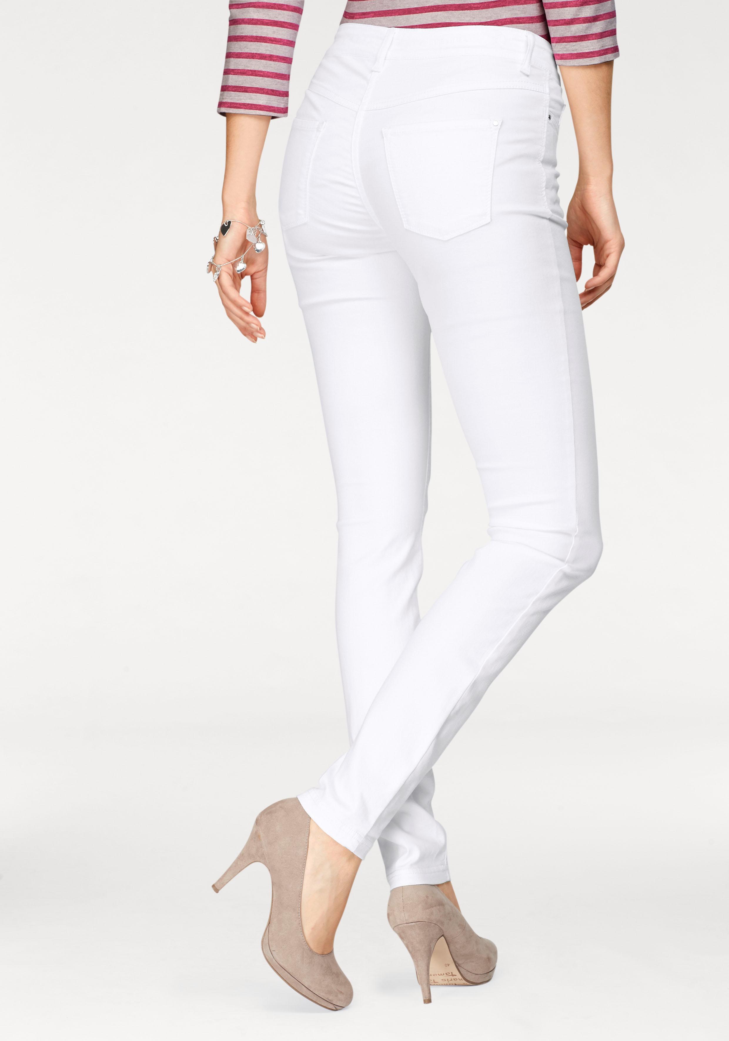 MAC Gerade Jeans Dream Skinny | Bekleidung > Jeans > Gerade Jeans | Weiß | Mac