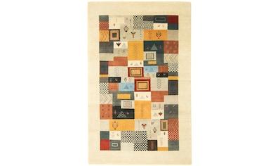 morgenland Wollteppich »LORIBAFT AWARO«, rechteckig, 18 mm Höhe, reine Wolle, Luxus,... kaufen