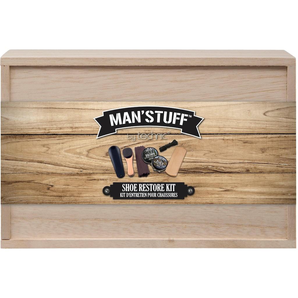 MAN'STUFF Schuhpflege-Set, «Shoe Kit», 7-tlg.)
