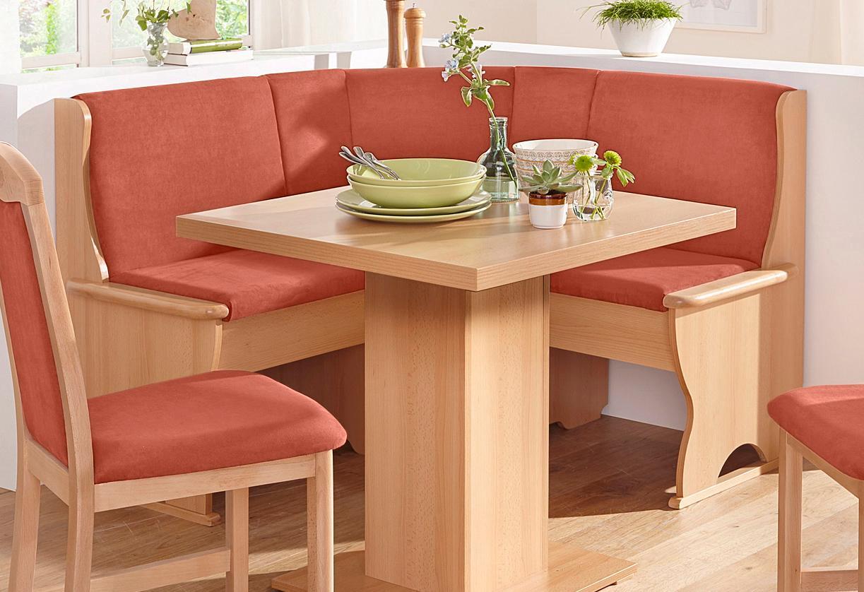 SCHÖSSWENDER Eckbank Köln klein mit 2 Truhen | Küche und Esszimmer > Sitzbänke > Eckbänke | Schösswender
