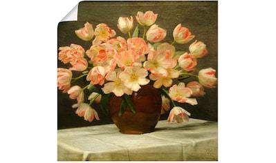 Artland Wandbild »Tulpen in einer Vase. 1915« kaufen