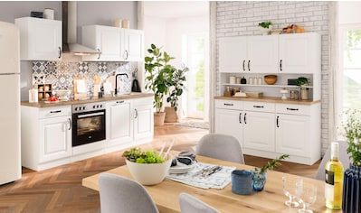 wiho Küchen Küchenzeile »Erla«, mit E - Geräten, Breite 220 cm kaufen