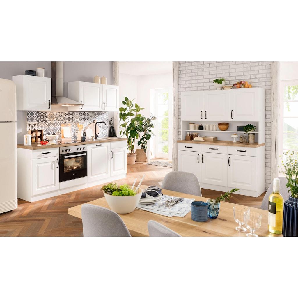 wiho Küchen Küchenzeile »Erla«, ohne E-Geräte, Breite 220 cm
