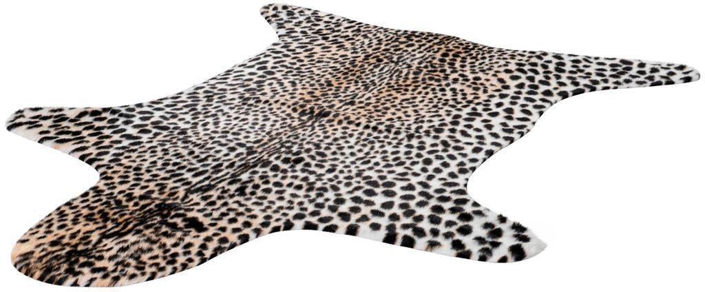 Teppich Rodeo 204 LALEE fellförmig Höhe 17 mm maschinell gewebt