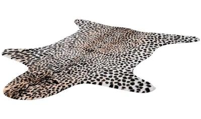 LALEE Teppich »Rodeo 204«, fellförmig, 17 mm Höhe, Wohnzimmer kaufen
