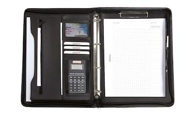 Alassio® Ringbuchmappe »DIN A4, Manerbo«, mit Taschenrechner kaufen