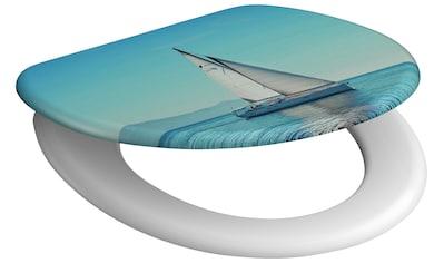 SCHÜTTE WC - Sitz »Sailing«, mit Absenkautomatik kaufen