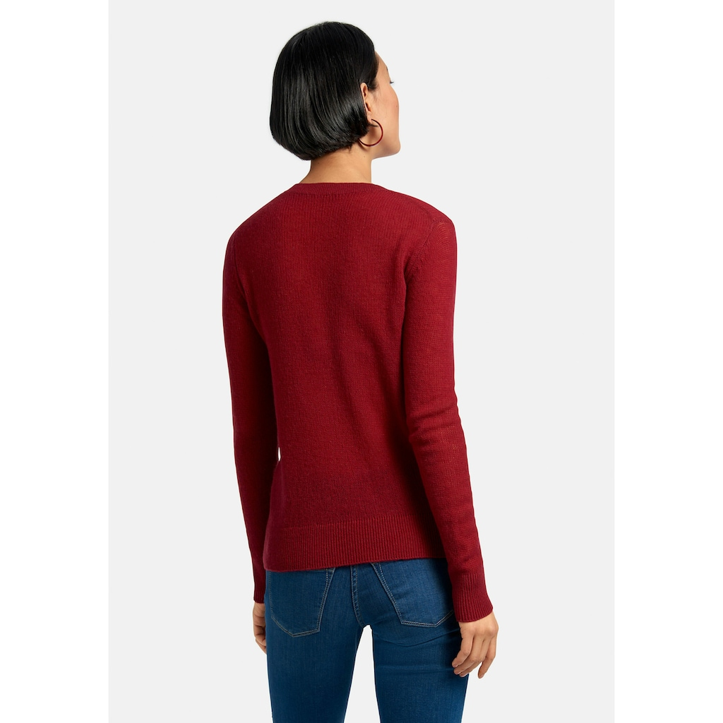 include Strickpullover »Rundhals-Pullover«, .