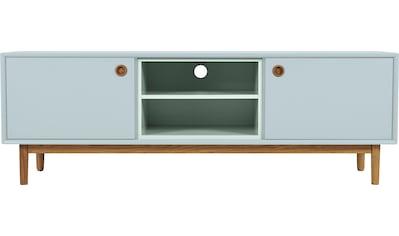 TOM TAILOR Lowboard »COLOR BOX«, mit 2 Türen & Kontrast-Regaleinsatz, Füße Eiche geölt, Breite 170 cm kaufen