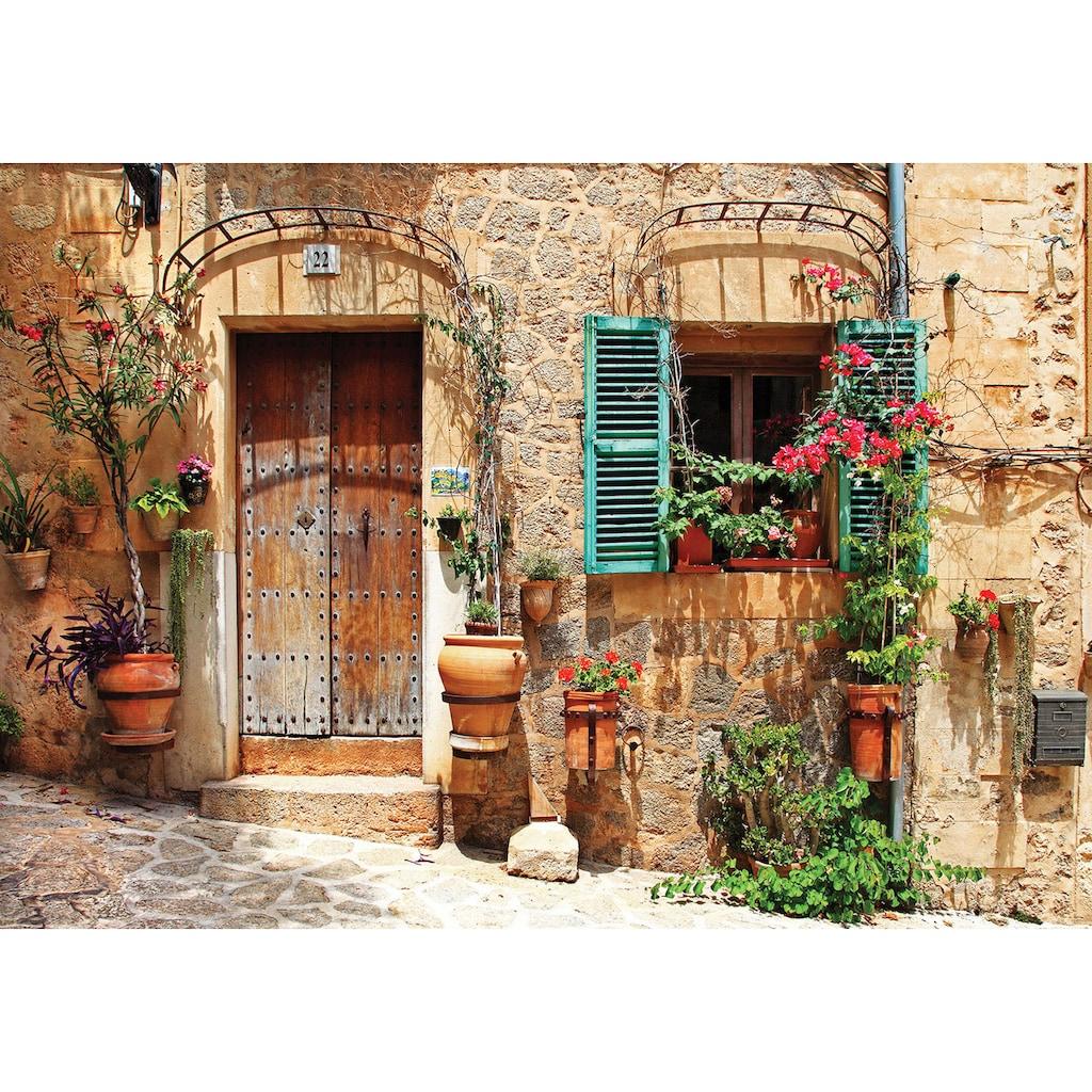 Consalnet Vliestapete »Rustikale Steinfassade«, verschiedene Motivgrößen, für das Büro oder Wohnzimmer