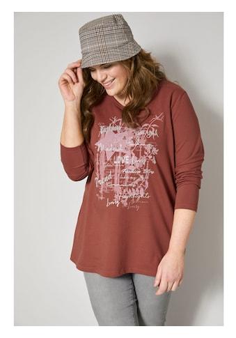 Janet & Joyce by HAPPYsize Sweatshirt, mit grafischem Druck kaufen