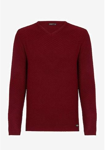 Cipo & Baxx V-Ausschnitt-Pullover, mit modischem V-Ausschnitt kaufen
