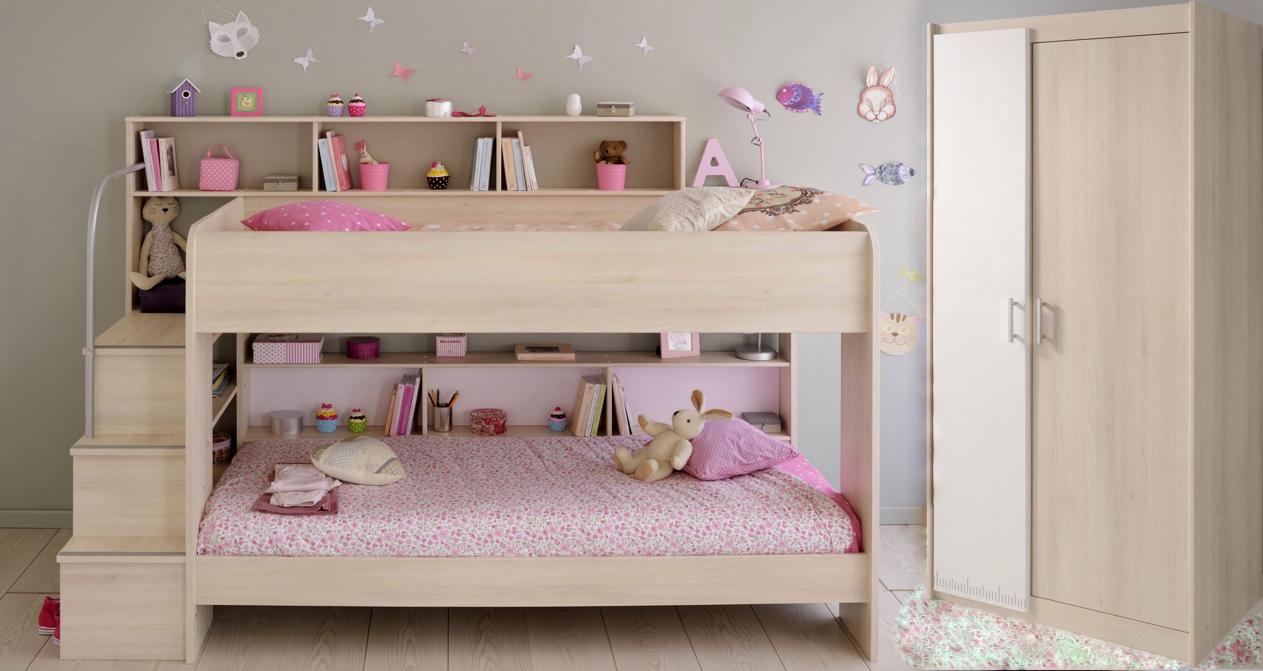 Parisot Kinderzimmer-Set Bibop (2-tlg) | Kinderzimmer > Komplett-Kinderzimmer | Braun | Parisot
