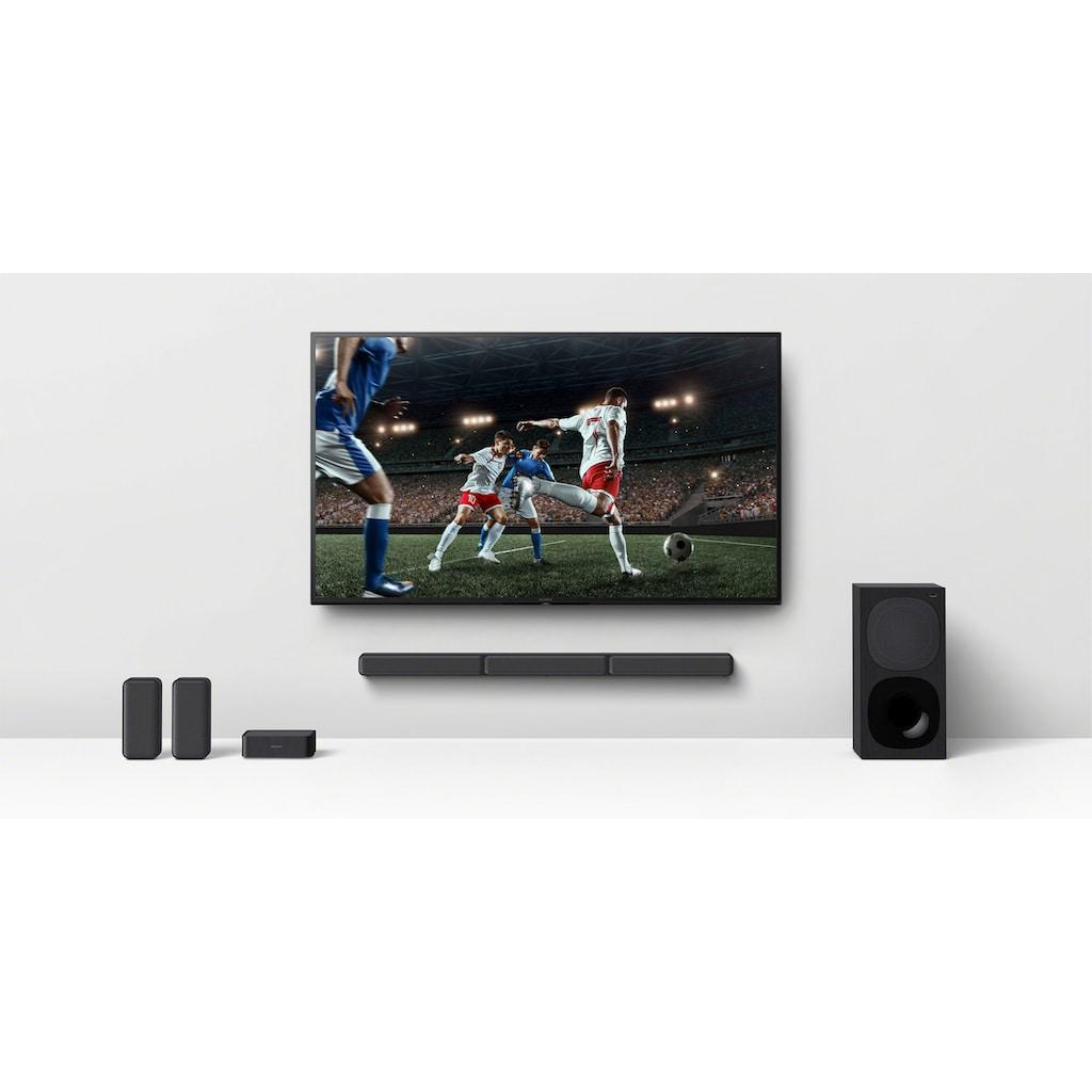 Sony Soundbar »HT-S40R Kanal-«, inkl. kabelgebundenem Subwoofer, kabellosen Rear-Lautsprechern, Surround Sound, Dolby Digital