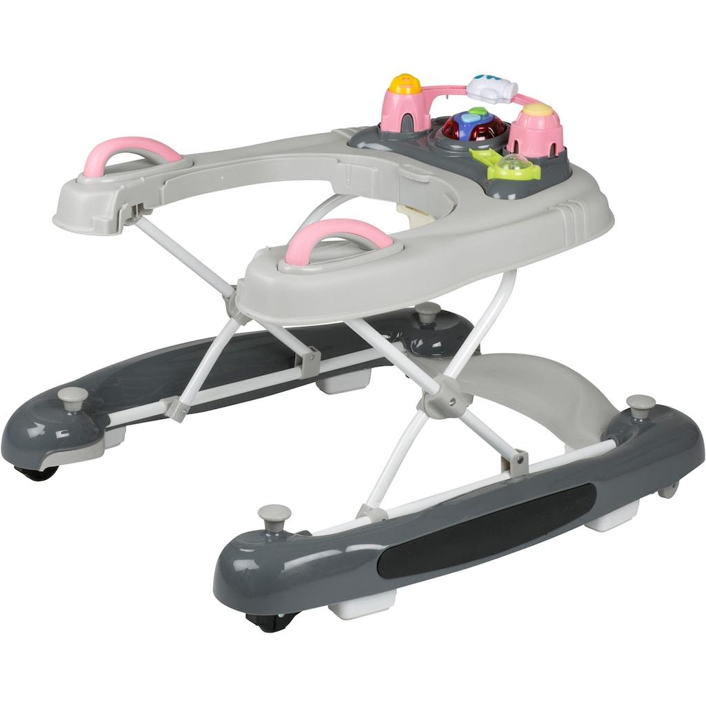 BabyGo Lauflernhilfe »Walker 4 in 1, pink«
