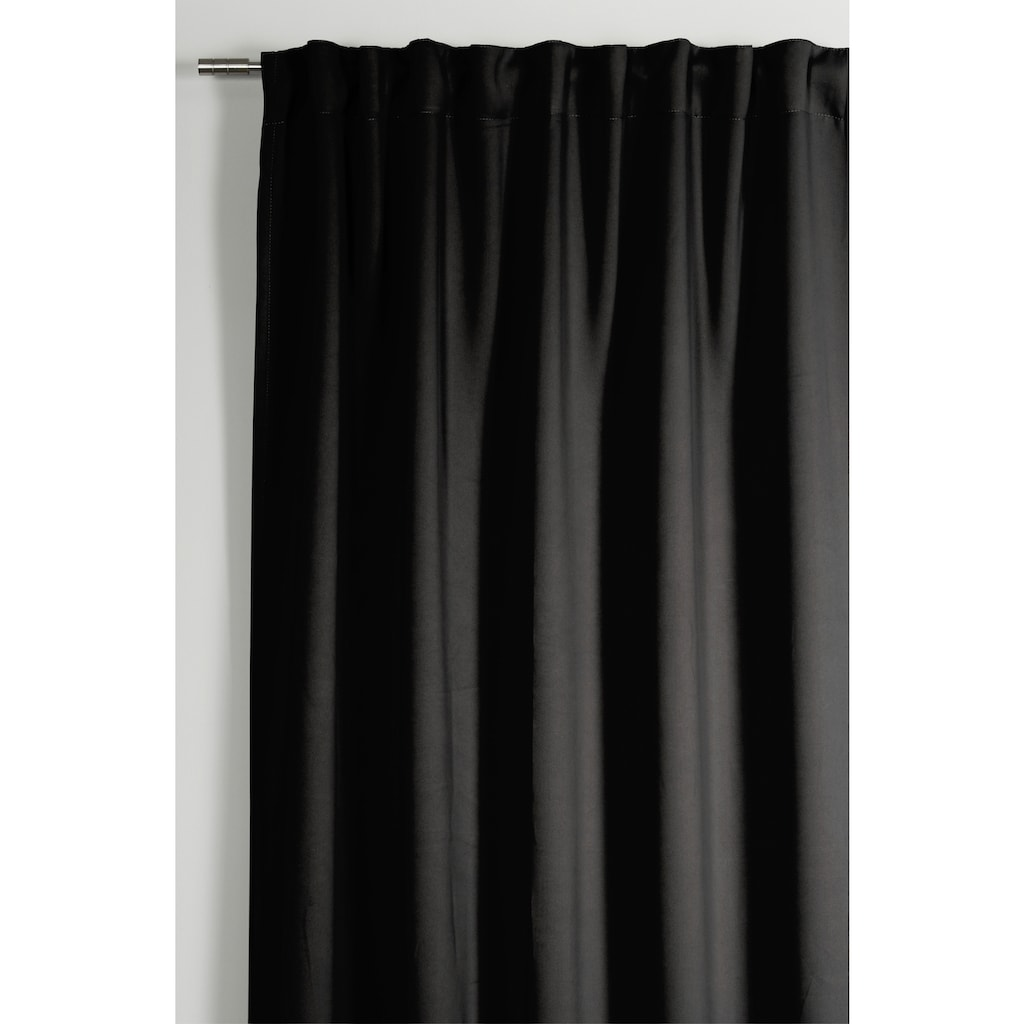 GARDINIA Gardine »Schal mit Gardinenband Dimout«, Vorhang