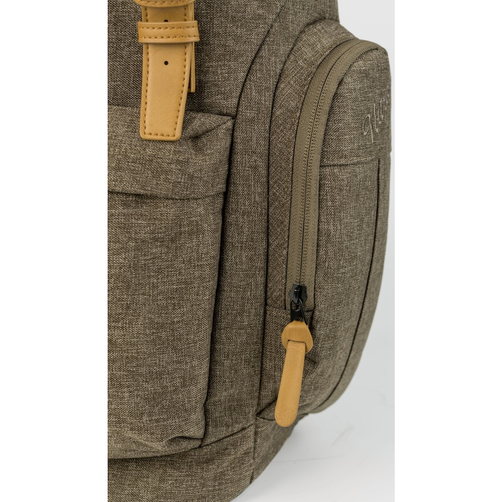NITRO Freizeitrucksack »Daypacker, Burnt Olive«, mit Laptopfach
