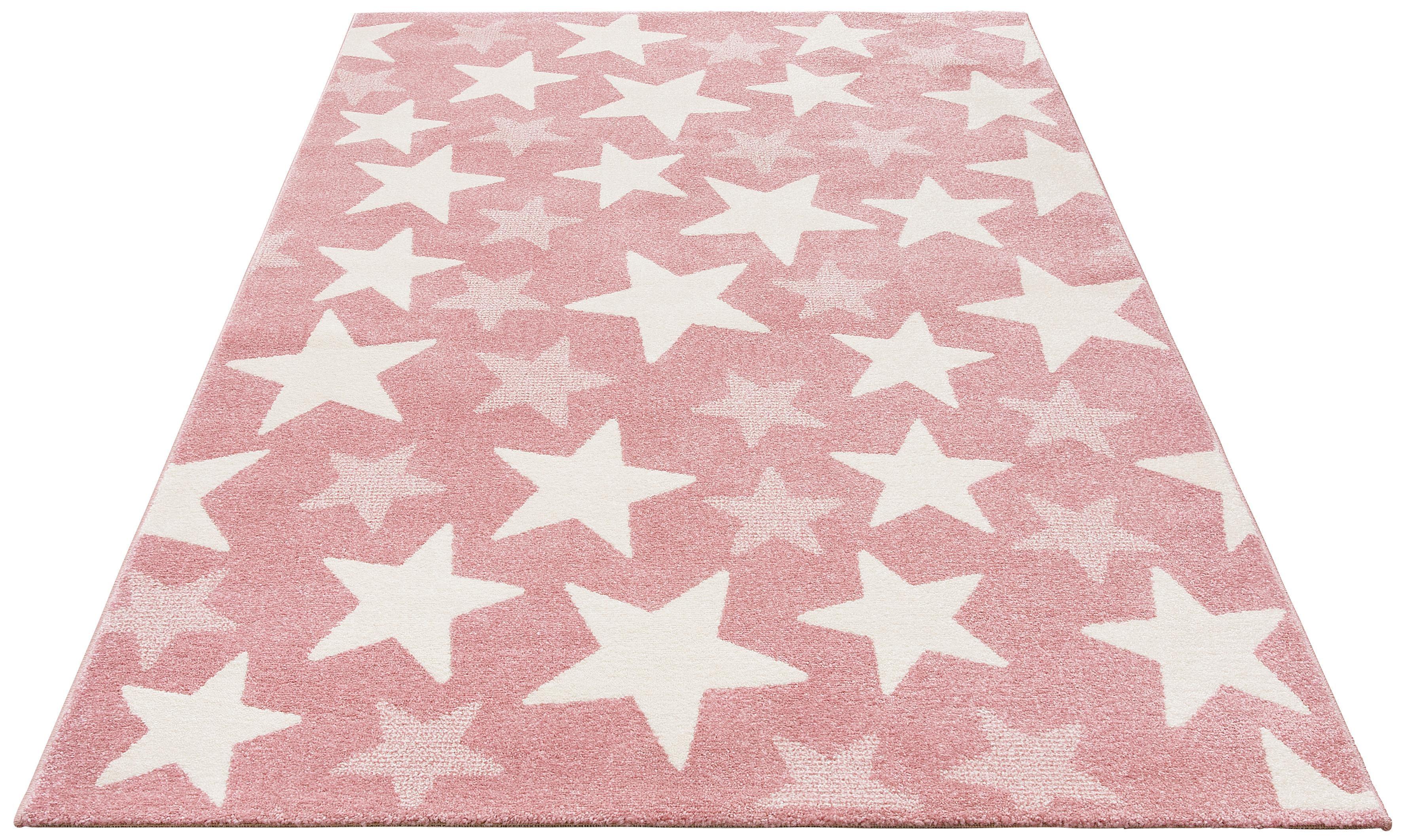 Kinderteppich Stars Lüttenhütt rechteckig Höhe 13 mm maschinell gewebt