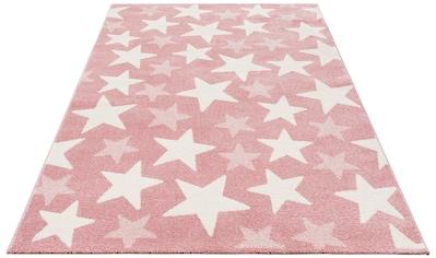 Lüttenhütt Kinderteppich »Stars«, rechteckig, 13 mm Höhe, Pastell-Farben kaufen