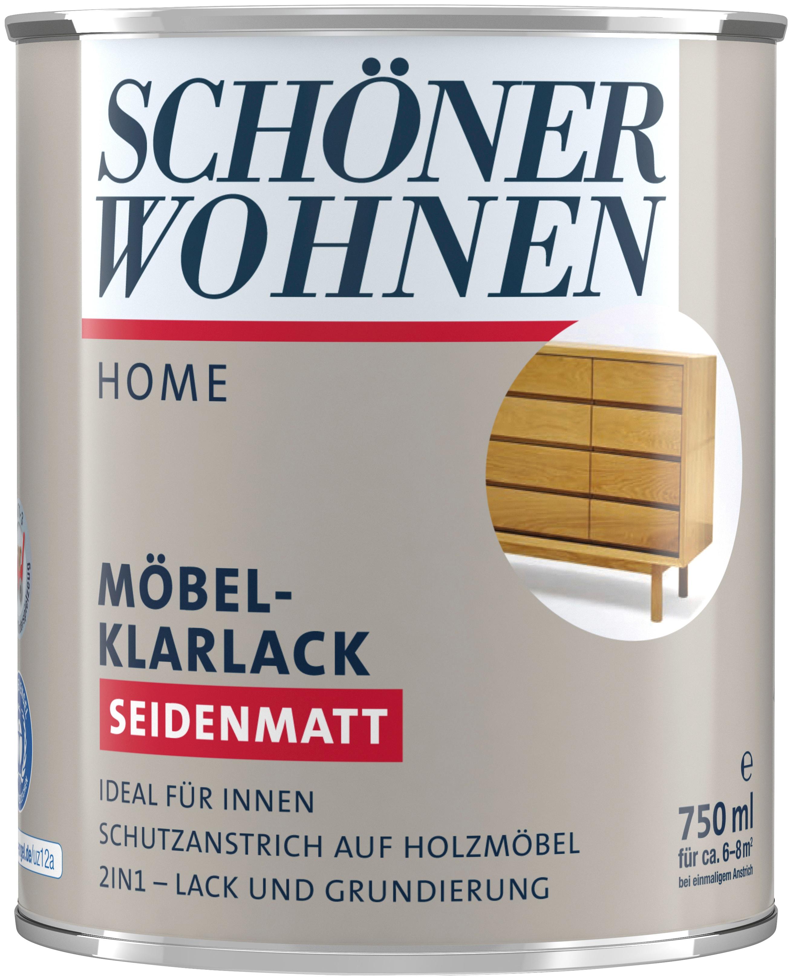 SCHÖNER WOHNEN-Kollektion Klarlack Home Möbel-Klarlack farblos Lacke Farben Bauen Renovieren