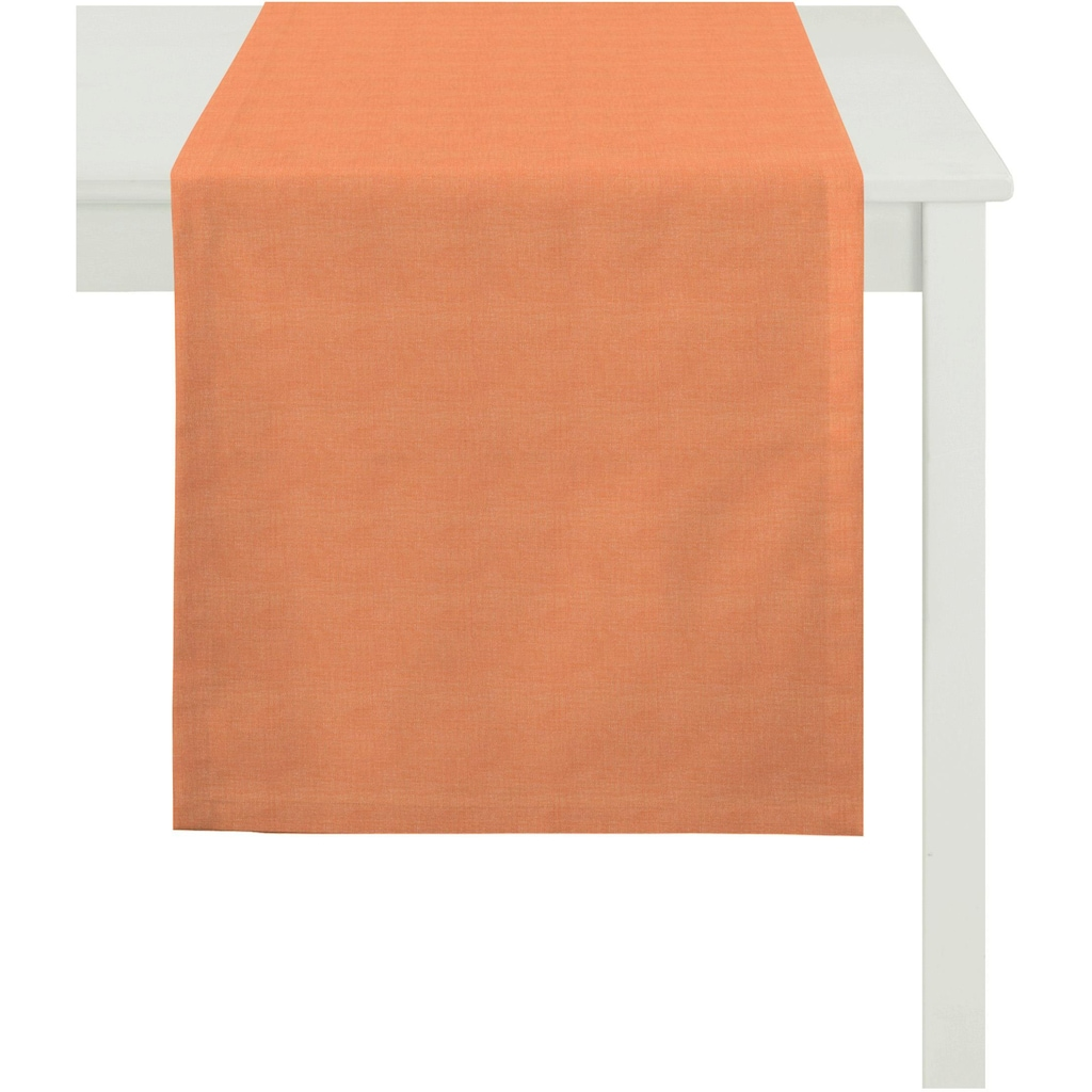 APELT Tischläufer »3947 OUTDOOR, Rips Uni«, (1 St.)