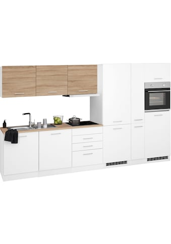 HELD MÖBEL Küchenzeile »Visby«, mit E-Geräten, Breite 330 cm kaufen