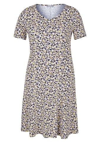 Rabe Kleid mit Allover-Print und A-Linie kaufen