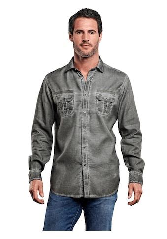 Engbers Hemd mit modischer Waschung kaufen
