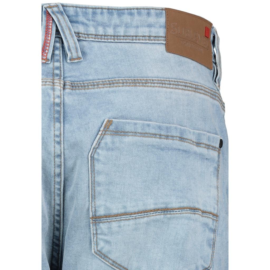 SUBLEVEL Slim-fit-Jeans, im 5-Pocket-Look