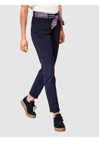 Dress In 5-Pocket-Hose, mit Bindegürtel kaufen