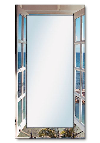 Artland Wandspiegel »Fenster zum Paradies«, gerahmter Ganzkörperspiegel mit... kaufen