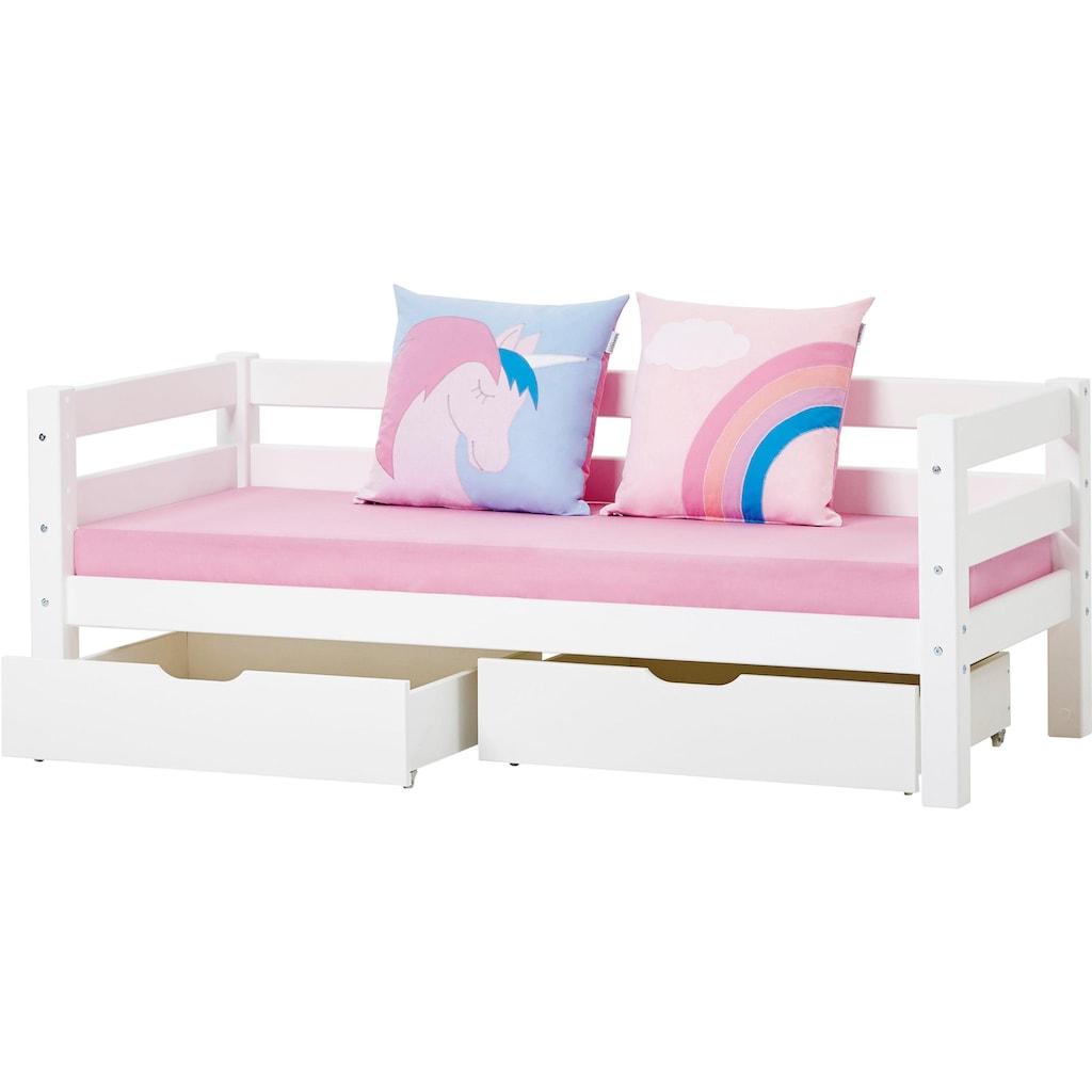 Hoppekids Bett »Einhorn«, - oder »Romantik«-Motiv