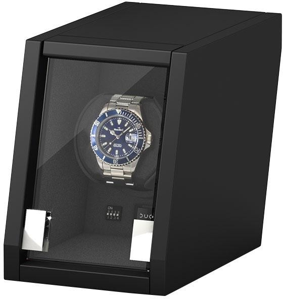 Boxy Uhrenbeweger Castle 309398 (2-tlg) | Uhren > Uhrenbeweger | Schwarz | Boxy