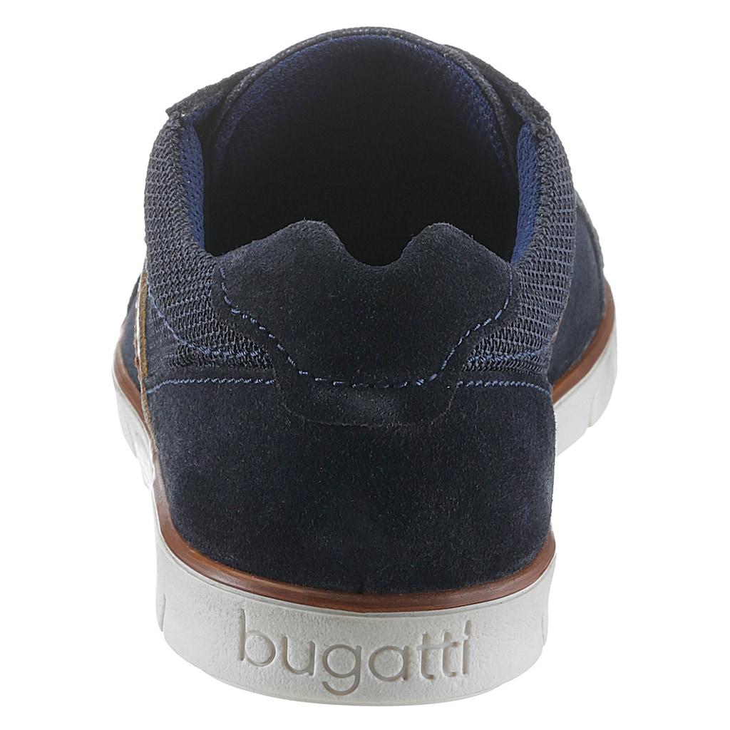 bugatti Sneaker »Pacific«, mit dezentem Kontrastbesatz