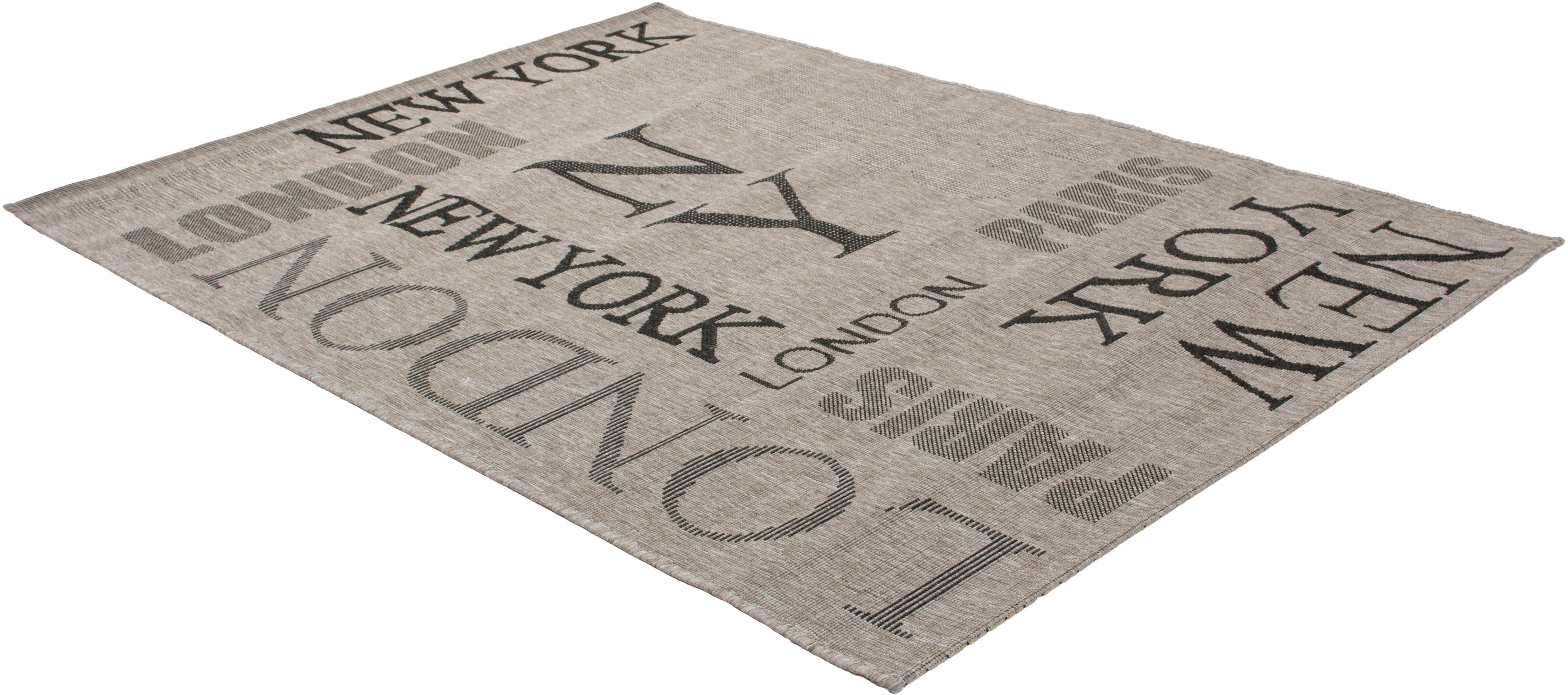 Teppich Trejo 711 calo-deluxe rechteckig Höhe 5 mm maschinell gewebt