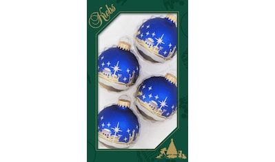 """Krebs Glas Lauscha Weihnachtsbaumkugel """"Bethlehem"""" kaufen"""
