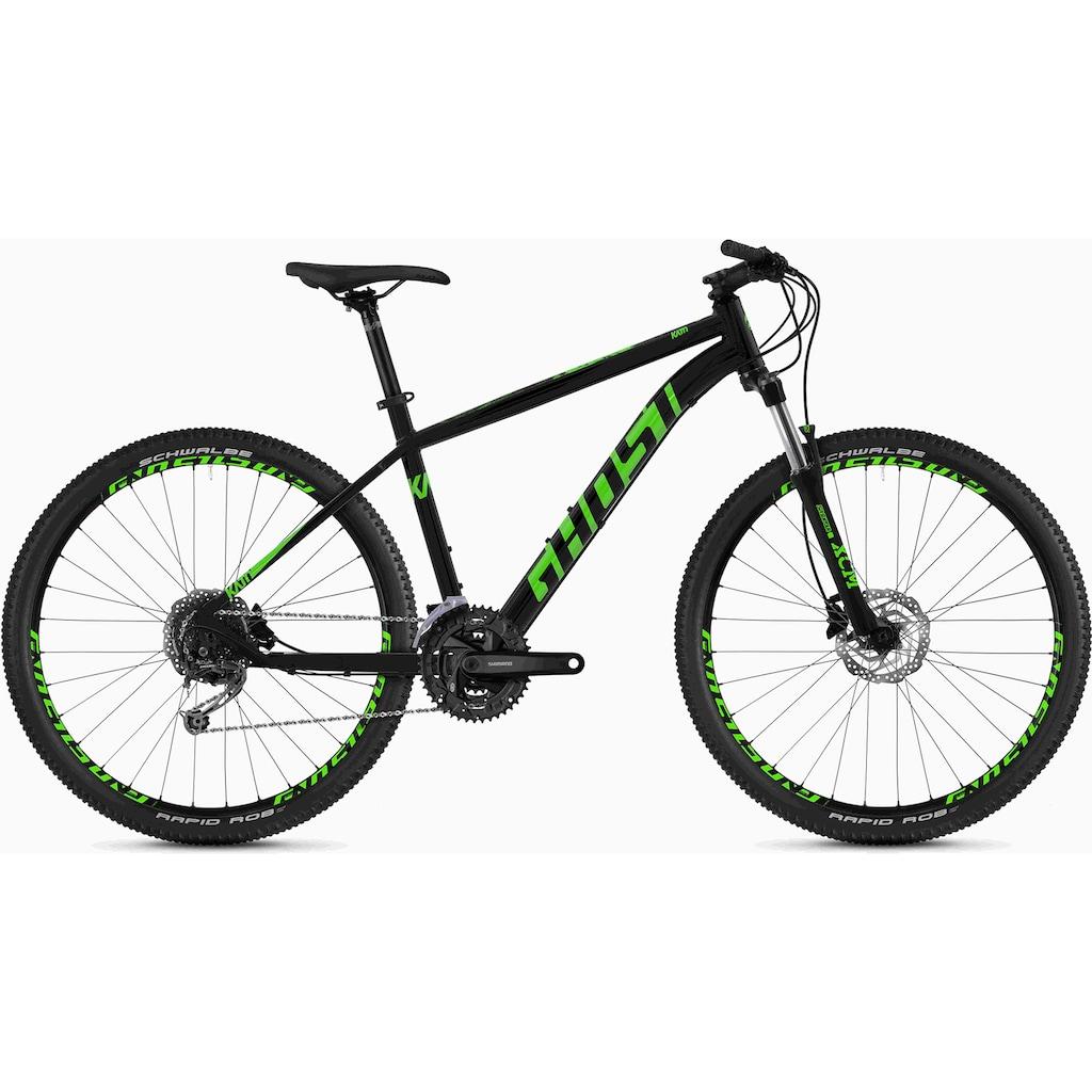 Ghost Mountainbike »Kato 4.7 AL U«, 27 Gang, Shimano, Deore RD-M592 9-S Schaltwerk, Kettenschaltung