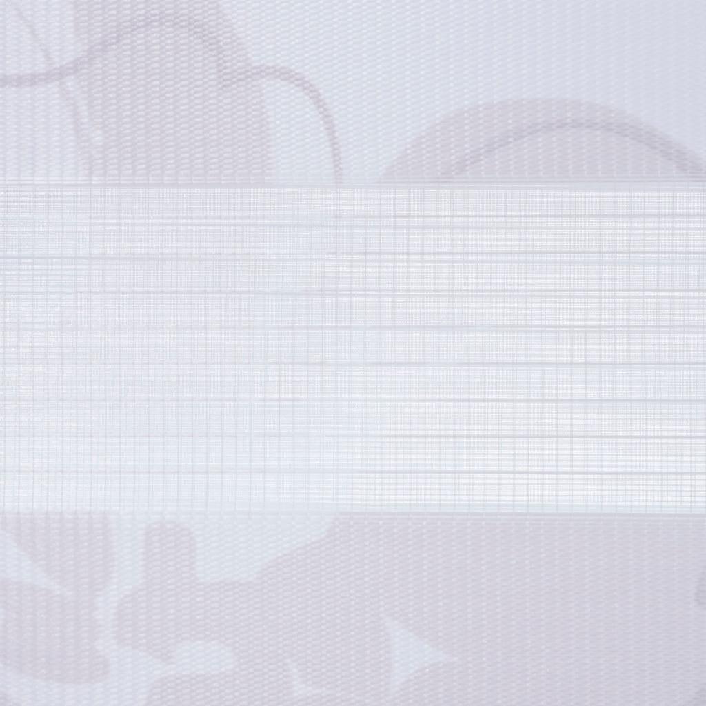 """Liedeco Seitenzugrollo »floral Blumendesign«, Lichtschutz, ohne Bohren, freihängend, Klemmfix-DUO-Rollo, Doppelrollo """"Blume"""""""