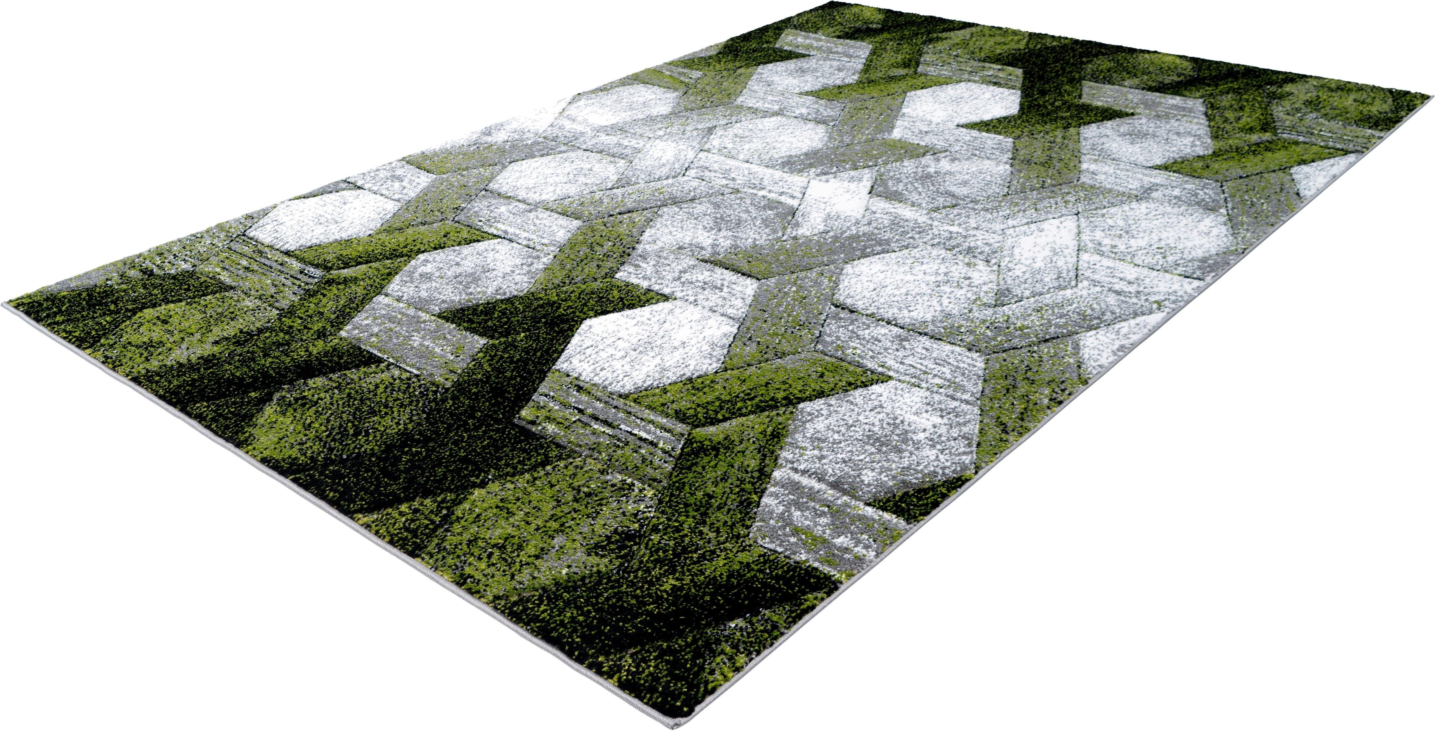 Teppich Astro 301 calo-deluxe rechteckig Höhe 14 mm maschinell gewebt