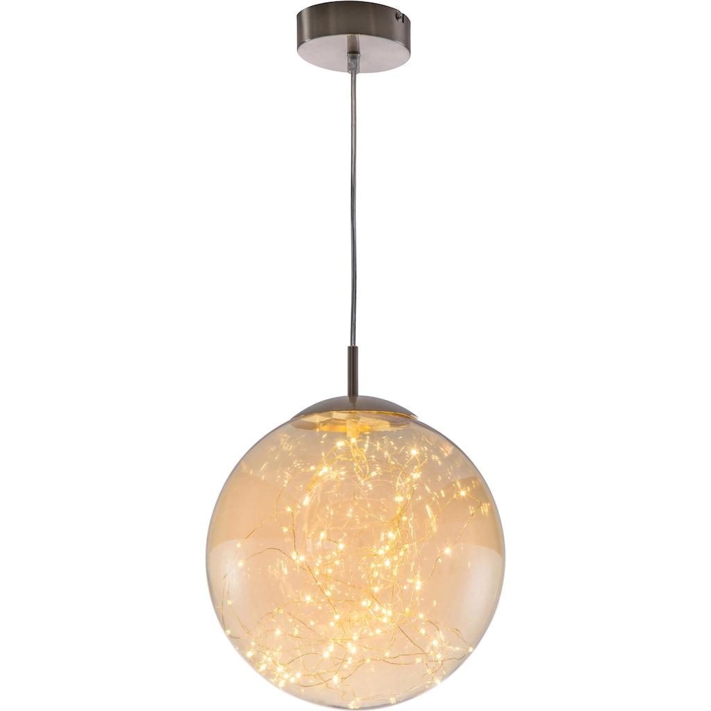 Nino Leuchten LED Pendelleuchte »LIGHTS«, LED-Board, Warmweiß, LED Hängelampe, LED Hängeleuchte