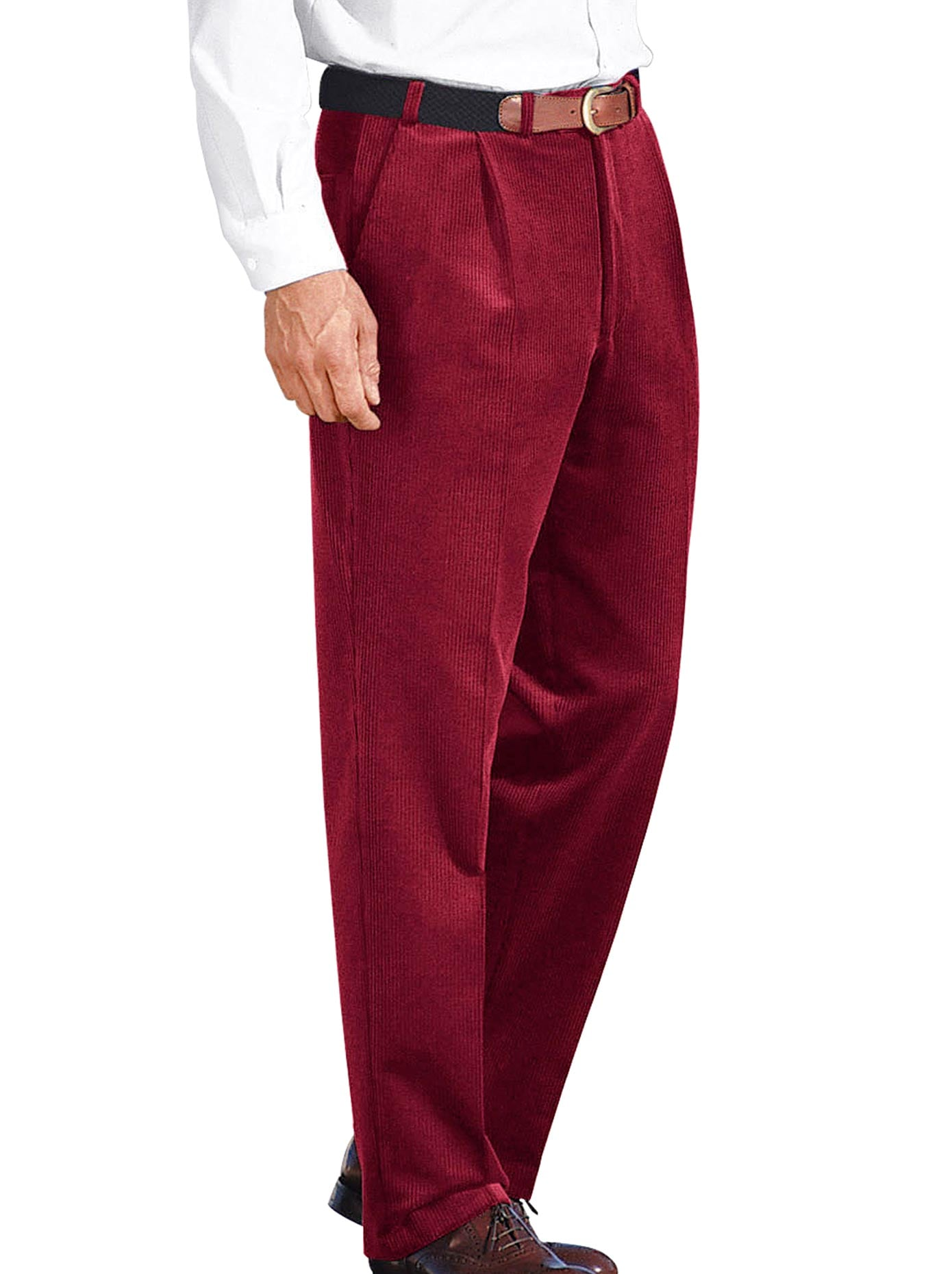 Classic Unterbauch-Stretchcord-Hose mit Dehnbund | Bekleidung > Hosen | Classic