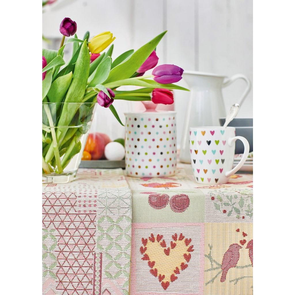 APELT Tischband »5315 HAPPY EASTER, Gobelin«