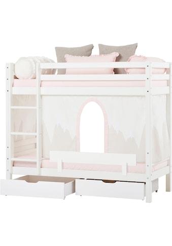 Hoppekids Etagenbett »Winter Wonderland«, (Set, 4 St., Bett, Vorhang und zwei Matratzen) kaufen