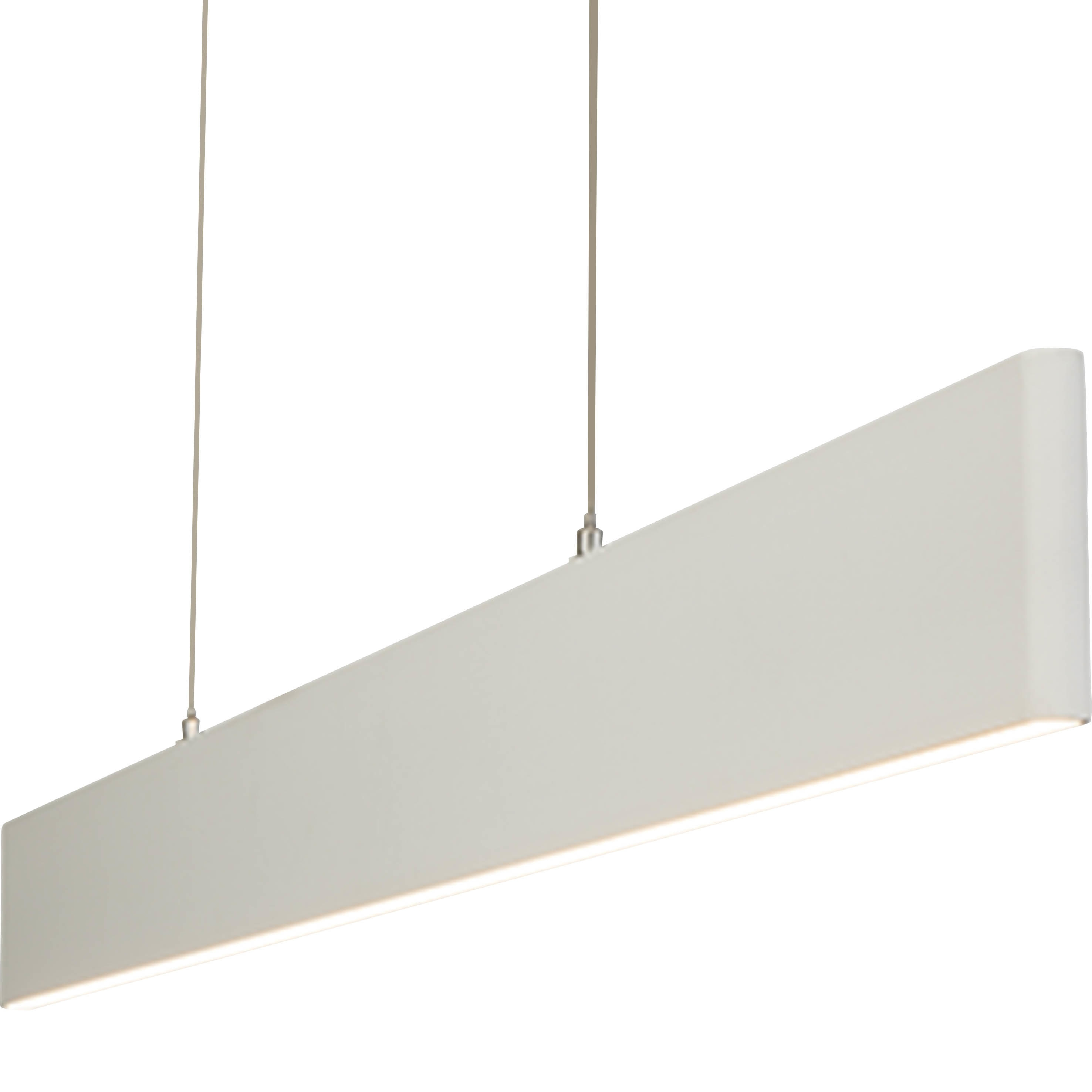 AEG Aura LED Pendelleuchte 1flg weiß
