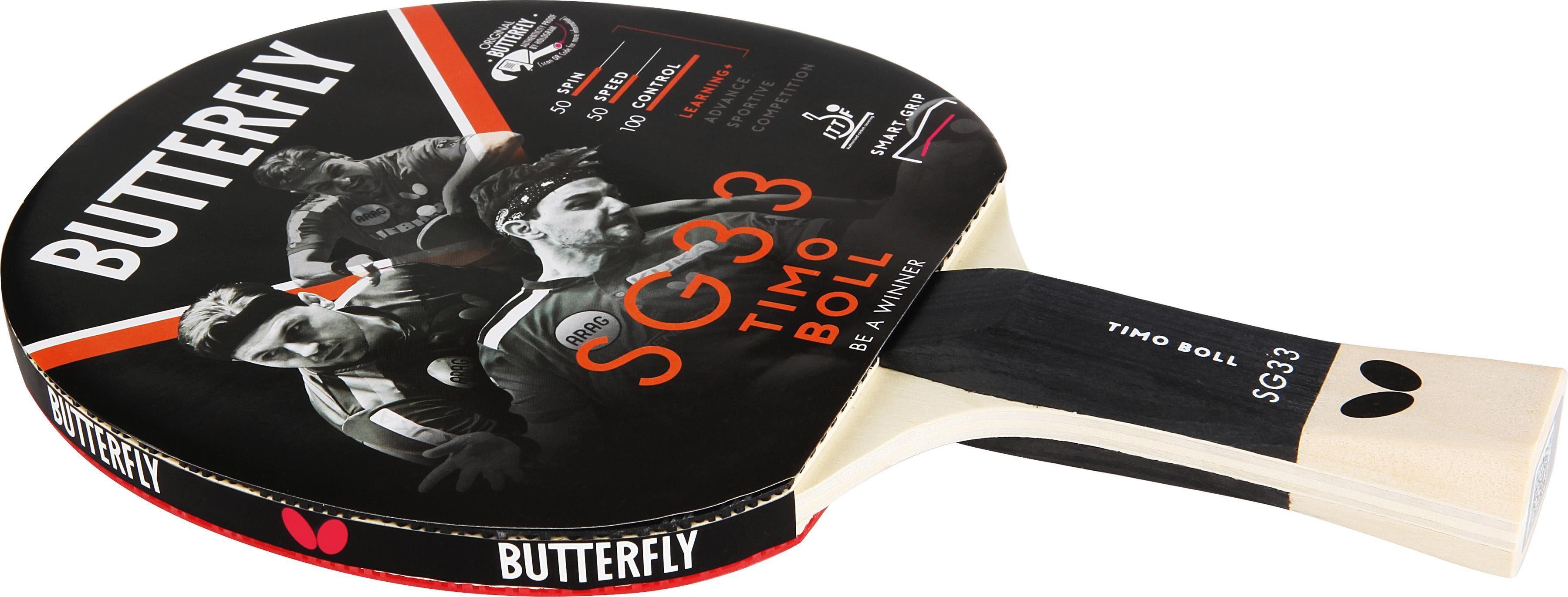 Butterfly Tischtennisschläger Timo Boll SG33 Technik & Freizeit/Sport & Freizeit/Sportarten/Tischtennis/Tischtennis-Ausrüstung