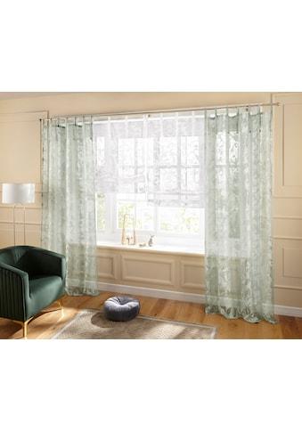 Guido Maria Kretschmer Home&Living Raffrollo »Glen«, mit Bindebänder, halbtransparent,... kaufen
