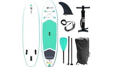 EXPLORER Inflatable SUP-Board »Stand Up Paddleset Explorer 300«, (Set, 6 tlg.) kaufen