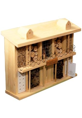 LUXUS-INSEKTENHOTEL Insektenhotel »Landsitz Superior«, BxTxH: 47x12,5x34 cm, zur... kaufen